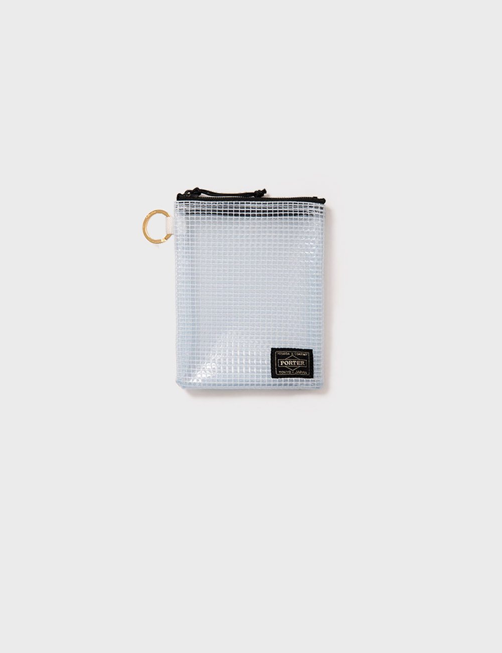 DIGAWEL : PVC POUCH MEDIUM (CLEAR)