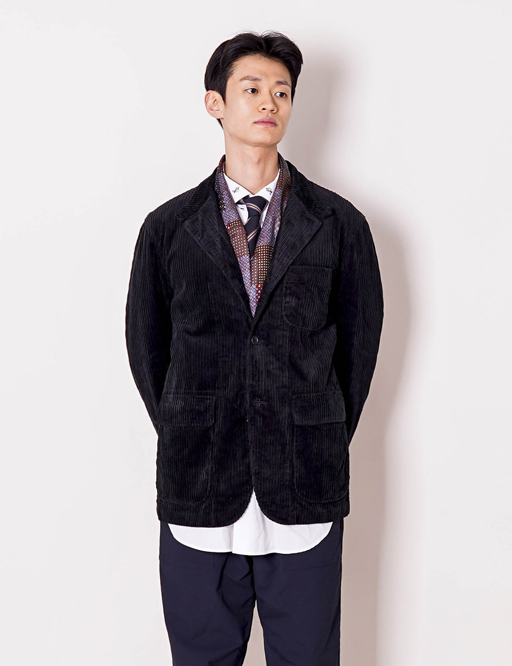 Engineered Garments : LOITER JACKET (BLACK)